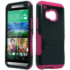 For HTC One M9 Phone Case SLIM GRIP Hard SHOCKPROOF IMPACT Cover