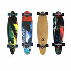 Earthship Komplett Longboard Kicktail Freeride Fiber Cruiser Skateboards NEU