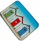 Beach Huts - Cover, Case, Pouch fits Kobo Glo, Touch, Aura, Edition 2
