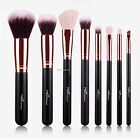 8pcs Makeup Brushes Cosmetic Powder Blush Contour High-light Eyebrow B20E