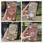 Lovely 3D Crown Girly Diamond Bling Rhinestone Silicone Clear TPU Gel Case Cover