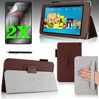 """For 2014 Amazon Kindle Fire HD 6"""" Case Stand Cover w/ Hand Strap + Accessories"""