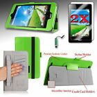 Premium Smart Case Cover Stand For Acer Iconia One 7 (B1-750) + Accessories