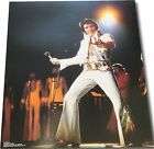 Elvis Presley UNSIGNED 16x20 Photo Singing in White Jump Suit Awesome Brand New