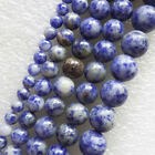 XX2574 Beautiful Sodalite 4-12mm Round Loose bead 15.5 inch Choose Size!