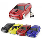 2.4Ghz Chevrolet Car Wireless Mouse Optical Game Mice for PC Laptop + USB Dongle