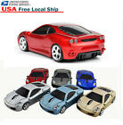 Wireless 2.4Ghz Optical Ferrari Audi Car Mouse Computer Gaming Mice USB Receiver