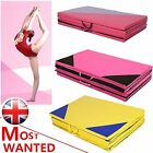 New 10FT Four Folding Gymnastics Mats Thick Exercise Gym Fitness Physio Pilates
