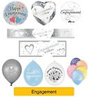 Happy Engagement - ENGAGEMENT WISHES Party Banners, Balloons, Decorations