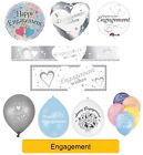 Happy Engagement - Party Range - Banners Balloons Decorations Supplies (1C)