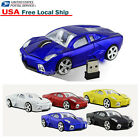 2.4G Wireless Lamborghini car mouse Optical Game mice for Laptop PC USB Receiver