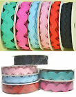 NEW 2y x Reel 9mm 12mm 19mm  Ric Rac Trimming Grosgrain Ribbon Eco Premium