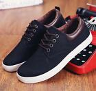 New Men's leather casual fashion sneakers lace casual Shoes