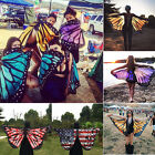 Fashion Lady Women Butterfly Wing Soft Wrap Long Shawl Scarves Scarf Beach Gift