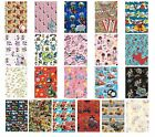 Licensed Character GIFT WRAP & gift Tags - 2 Sheets & 2 Tags Included (Disney)