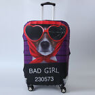 "Funny Dust-proof Elastic Travel Spandex Luggage Cover Suitcase Protector 19""-21"""