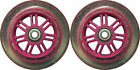 100mm 88a Replacement Wheels 2 Pack for Razor Kick Scooter GLITTER/PINK