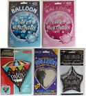 FOIL HELIUM BALLOONS VARIOUS - Birthday, Party