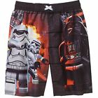 Star Wars Stromtrooper Swim Trunks Shorts Boy Size 8