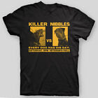 KILLER VS NIBBLES Half Baked Chappelle Cheech COMEDY Brennan T-Shirt SIZES S-5X