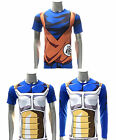 Dragon Ball Z Compression Workout T-shirt Cosplay Cycling Jersey Gym Costume Tee