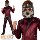Star Lord Boys Costume Peter Quill Guardians Of The Galaxy Childs Fancy Dress