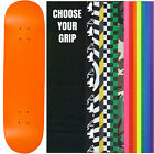 "Skateboard Deck Pro 7-Ply Canadian Maple NEON ORANGE With Griptape 7.5"" - 8.5"""