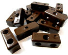 BROWN MODESTY BLOCK FURNITURE CONNECTOR BLOCKS, FIXIT CABINETS CUPBOARDS(FWS)