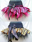 GIRLS TIGER ZEBRA ANIMAL PRINT TUTU RARA SKIRT DANCE STAGE PARTY PAGEANT COSTUME