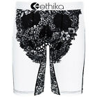 ETHIKA The Staple Lace Skull Underwear Boxer Brief Black White S-2XL NEW
