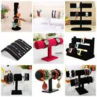 display stands for jewellery - Boxes Case For Bangle Jewelry Ring Wrist Watch Black Velvet Display Holder Stand