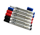 Whiteboard Drywipe Pens Marker 4mm Tip Black Red Blue Chart Quality Eco