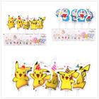 5pc Cartoon Viking Pikachu Birthday Cake Candles Party Supply Decoration Great