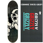 TOY MACHINE Pro Skateboard Deck VICE DEAD MONSTER (assorted) 8.2 w/ GRIZZLY GRIP