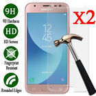 2Pcs 9H Tempered Glass Screen Protector Film For Samsung Galaxy J1 2 3 5 7 Prime