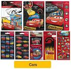 DISNEY CARS - Foil Stickers - Colouring Sets Xmas Birthday Gift Party Loot Bags