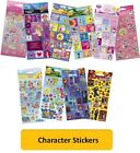 Official Licensed CHARACTER STICKERS - Arts 3D Crafts Reward Foil - Disney Pixar
