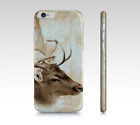 Phone Case Cell cover for Iphone Samsung Galaxy Deer 5 Antique sepia L.Dumas