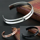 Stainless Steel Cuff Bangle Gold Silver Plated Bangle Hair Tie Bracelet HF