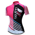 Black Women BikeJersey Cycling Clothing MTB Outdoor Shirt breathable bicycle top