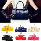 PU Women 6Pcs Handbag Tote Purse Satchel Cross Body Messenger Shoulder Bag - LD