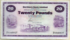 Northern Bank Ltd £20 Twenty Pound banknote 1970 1981 1987 1988 real currency