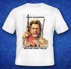 THE OUTLAW JOSEY WALES great style Movie Poster T-SHIRT