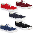 52N NEW WOMENS CASUAL LACE UP FLAT PLIMSOLLS  LADIES TRAINERS SHOES SIZE 3-8 UK