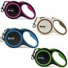 Bunty Retractable Extending Lead Leash Soft Grip Long Reach Clip 5m 3m Tape 30kg