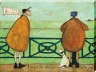 Sam Toft I Hope I'm Always with You Canvas Print 30x40cm