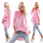 WoW Exclusive 5 People!S Vokuhila Tunika Bluse Ananas-Style  Neu