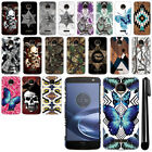 For Motorola Moto Z Force Droid Edition Butterfly HARD Back Case Cover + Pen