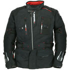 Oxford Copenhagen Motorcycle Motorbike Winter Waterproof Textile Jacket Black