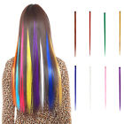 5pcs hair extensions women's Long Synthetic Clip Gradient Color cosplay